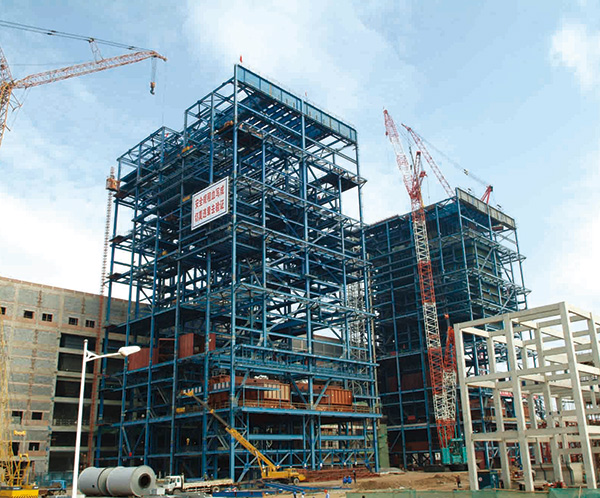 Heavy duty steel structure